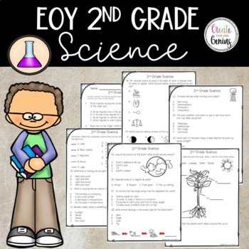 End of the year 2nd Grade Science