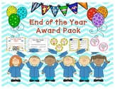 End of the year Award Certificates/medals/invites/parent t