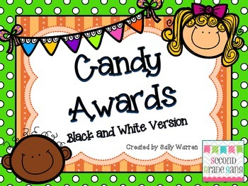 End of the year Candy Awards-Black and White Version