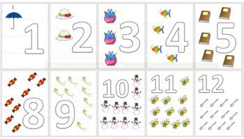 End of the year Flashcards number 1 - 20
