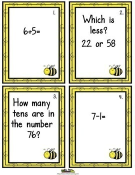 End of the Year Math Game