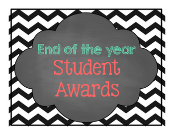 End of the year- Most likely to... awards