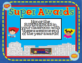 End of the year SUPERHERO Awards!