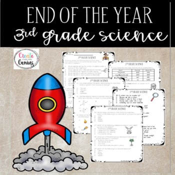 End of the year Science- 3rd Grade