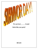 """End of the year """"Survivor"""" Day!"""