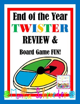 End of the year TWISTER Review and Board Game Day