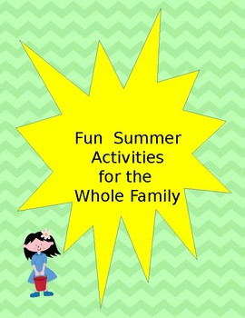 End of the year activity for all grade levels!