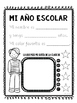 End of the year activity worksheets in Spanish