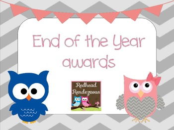 End of the year awards - chevron