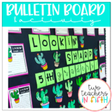 LOOKIN' SHARP! Bulletin board/ writing activity (cactus theme)