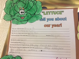 """""""Lettuce"""" telly you about our year!     End of the year cr"""