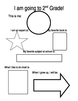 End of the year for 1st grade