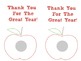 End of the year lip balm printables
