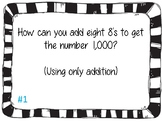 End of the year math brain teaser