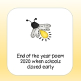 End of the year poem for 1st grade