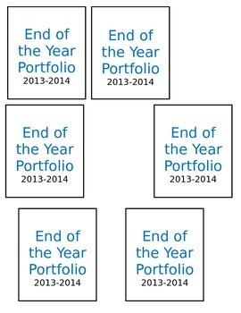 End of the year portfolio