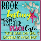 End of theYear Book Tasting Activity Event Set  Bestseller Beach Cafe