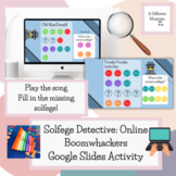 End of year Boomwhacker Solfege Activity -  Elementary Music - Google Slides