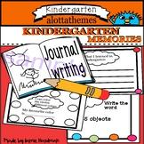 End of year Memory Journal for Kindergarten
