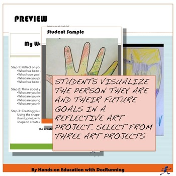 End of year Middle School Self-Reflection Bundle SAVE