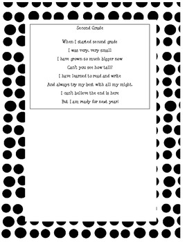 end of the year poem This site might help you re: does anyone have a poem to give to students at the end of the school year my professor in.