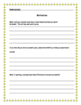 End-of-year Student Reflection and Feedback