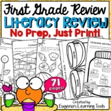 First Grade Literacy Review - End of Year
