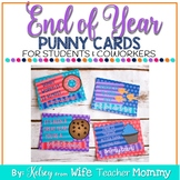 End of the Year Cards