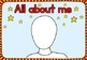 Back to school - All about me coloring booklet