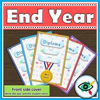 End of year diploma covers