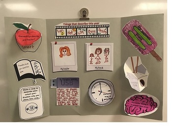 End of year memory lapbook