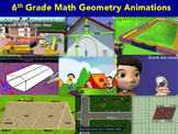 Bell Ringers for 6th Grade : Geometry