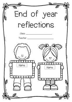 End of year worksheets / booklet
