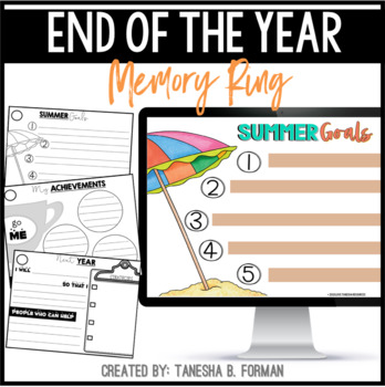 End the Year Memory Ring