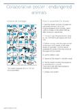 Endanger animals Collaborative Poster