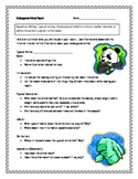 Endangered Animal Informational Report Writing Sheets, 12