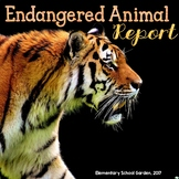 Endangered Animal Research Report - Nonfiction Writing for Common Core