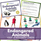 Endangered Animal Yoga & Movement Cards and Lesson Plan