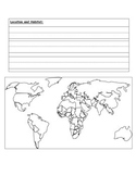 Endangered Animal lap book template