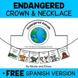 Endangered Animals Activity Crown and Necklace