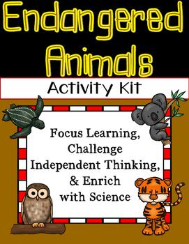 Endangered Animals Activities