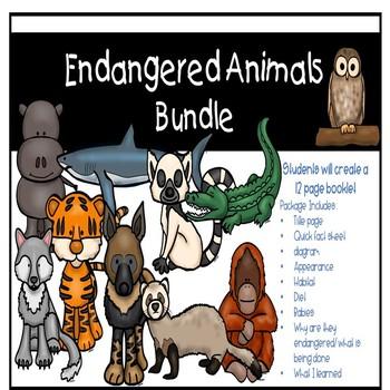 Endangered Animals Bundle