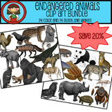 Endangered Animals Clip Art BUNDLE - SAVE 20%