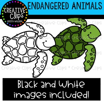 Endangered Animals Clipart {Creative Clips Clipart}