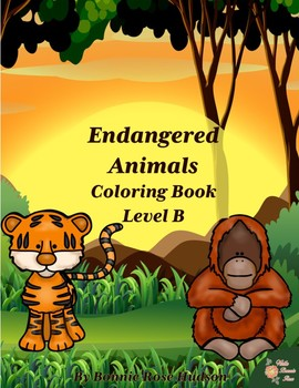 Endangered Animals Coloring Book