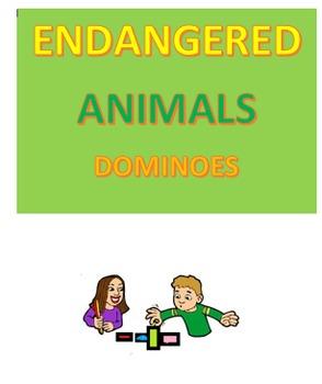 Endangered Animals Dominoes