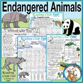 Endangered Animals Set (Earth Day)