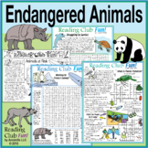Endangered Animals Set (Earth Day)
