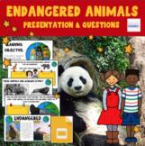 Endangered Animals  GOOGLE  - Earth Day - Human Impact