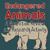 Endangered Animals Literacy Center and Research Activity